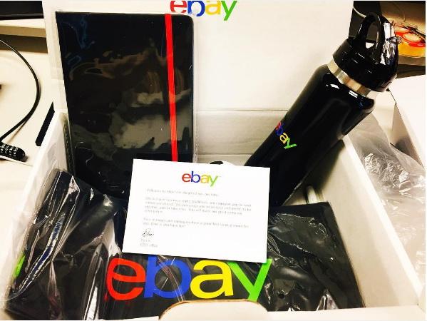eBay kit de bienvenida